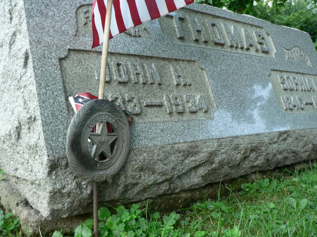 John Thomas grave marker